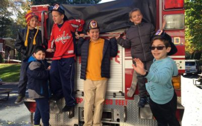 Huntington Fire Department Comes to Visit!
