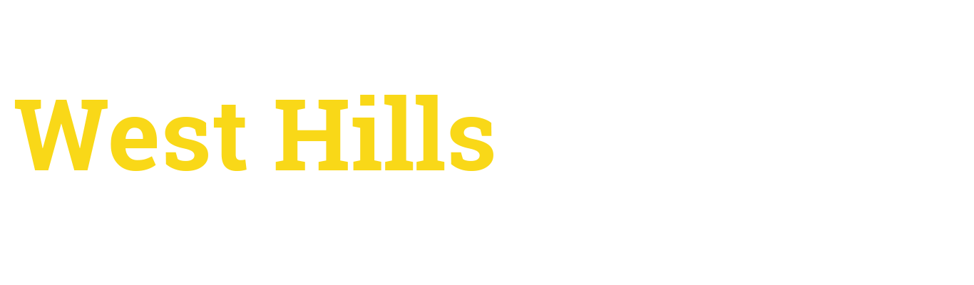 West Hills Academy Horizontal Text Logo