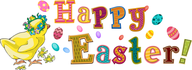 Image result for easter holidays 2019 clipart